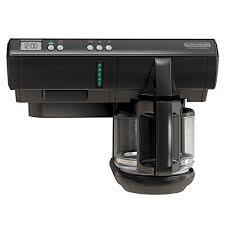 BLACK DECKER SCM1000BD SpaceMaker Under The Cabinet 12 Cup Programmable Coffeemaker Black