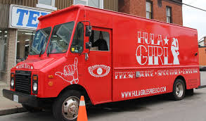 100 Food Truck Dc Tracker Hula Girl At Sew Hungry Hamilton S Truck