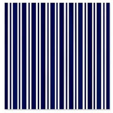 Navy And White Striped Curtains Canada by Navy Blue White Stripes Shower Curtain Polyvore