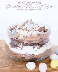 Pumpkin Mousse Trifle Country Living by Mini Cadbury Egg Chocolate Mousse Trifle Mousse Dessert Recipes