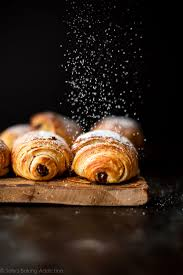 Extra Flaky And Buttery Homemade Chocolate Croissants Pain Au Chocolat Are Incredible Warm From