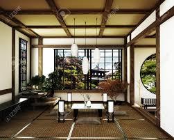 100 Zen Style House Japanese Room Kyoto Zen Style 3D Rendering