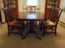 Ethan Allen Mahogany Dining Room Table by Ethan Allen Dining Furniture Sets Ebay