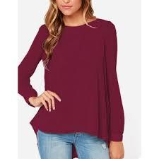 ZANZEA 2016 Spring Fashion Women Chiffon Blouses Casual Shirt Blusas