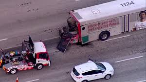 Chopper 5: Palm Tran Bus Crashes On I-95 - YouTube Tctortrailer Jackknifes On I95 Brings Traffic To Stop Wjar Robert Ben Rhoades The Truck Stop Killer Deadly Day Connecticut Post Bikes Crash From Sb In South Carolina Near Rest I 95 Stops Bi Double You Trucks Are Lined Up Along A Truck As Truckers Take Break Straddles Jersey Wall Closes Lanes Wtvrcom Inrstate Virginia Wikipedia Overloaded Finally Moved Cranston Herald Nys Thruway Rest Stops Guide Restaurants Coffee Gas At Each Ups Big Rig Driver Capes Fiery Crash Near Iteam Reconstructs Deadly That Left 5 Dead Abc11com