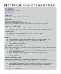 Engineer Resume Sample For A Mechanical Civil