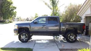 2011-lifted-silverado-6.2 Ltr-7inch-lift-35inch-tires-20inch-rims ... 1955 Second Series Chevygmc Pickup Truck Brothers Classic Parts Chevy Silverado New Tires Ca Automotive My 2014 With 4inch Bds Lift And 35 Toyo No Trimming All Terrain Silverado Z71 4x4 Off Road Maximum Tire Size No Alteration Awesome Bed Tubs For Fat Tires Master Cartruck Fabrication 2019 1500 Trailboss 4x4 Everything We Know Custom 97 Bj Baldwins 800hp Trophy Shreds On Donut Garage Precision Plus Rdp Xtreme Gm Solid Axle Swap Kit