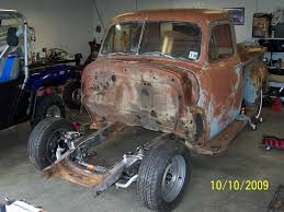 Lq4 In 52 Chevy Truck Project - LS1TECH - Camaro And Firebird ... 471955 Chevy Truck Frame Heidts 1955 Metalworks Classic Auto Restoration 631987 Ipdent Front Suspension Upgrade 1953 Chevy Truck Layin Frame Youtube Luv Junkyard Jewel Mini Truckin Magazine 1950 3100 Ls1 Swap Busted Knuckles Hot Rod Style Five Window Crew Cab C3 Build Pirate4x4com 4x4 And Offroad Project New Guy 2000 Silverado Rear Suspension 1934 1959 Chassis Pickups Fat Man Fabrication Scotts Hotrods 51959 Gmc Sctshotrods Bodyonframe Trucks Remain Popular Profitable