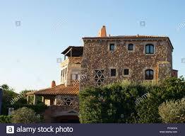 100 Sardinia House S In Porto Cervo Costa Smeralda Sardinia Italy Stock