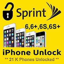 Amazon FACTORY UNLOCK USA SPRINT iphone 6 6 6S 6S