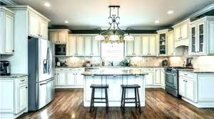 Cream Cabinets Kitchen Paint Ideas With Elegant Color And