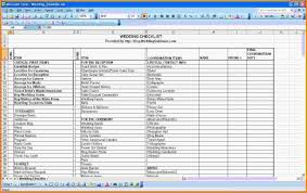 Wedding Budget Checklist Pdf Fresh 9 Planning