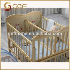 Twins Babies Wooden Crib Baby Cot Bed For GEF BB 103
