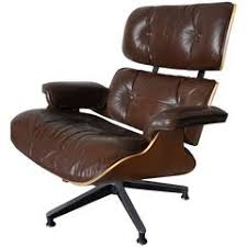 Herman Miller Eames Soft Pad Executive Chair by Espresso Leather Eames Soft Pad Executive Lounge Chair By Herman