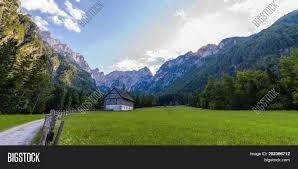 100 Where Is Slovenia Located Mountain Farm House On Image Photo Free Trial Bigstock