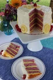 Raspberry Lemon Layer Cake Homemakerchic