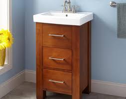 Corner Bathroom Vanity Set by Xylem Carlton 20 Inch Corner Bathroom Vanity Set