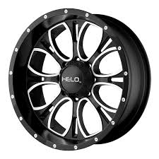 100 Helo Truck Wheels Amazoncom HE879 Wheel With Gloss Black Milled 17x96x55
