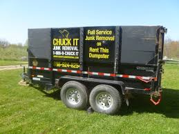 Dumpster Rental, 15 Cubic Yard Trailer, Ann Arbor, Michigan
