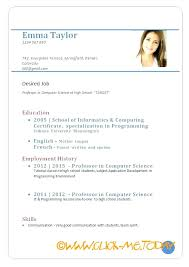 Resume Form Sample Template Luxury Example Format Samples The Best International