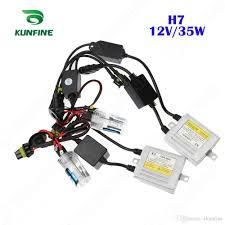 12v 35w x3 canbus hid conversion xenon kit h7 xenon bulb car hid