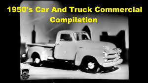 100 Car And Truck 1950s Commercial Compilation Vol 1 YouTube