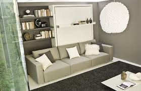 beautiful sofa wall bed living room