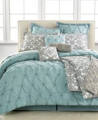 Light Blue forter Set Queen Sky Blue forter Navy Blue And