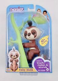 New Limited Edition Exclusive Fingerling Kingsley Baby Sloth Authentic