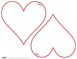 Heart Template Coloring Pages Of Hearts Printable Shape Pattern Free The 25 Best Ideas On Pinterest