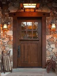 Sundance Style Craftsman Knotty Alder Entry Door 42 X 80
