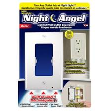 home hardware decor led lighted wall outlet cover plate
