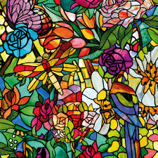 Artscape Magnolia Decorative Window Film by Looking For Something Colorful Yet In Keeping With The Style Of