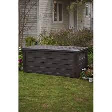 Suncast 195 Gallon Deck Box Manual by Keter Westwood 150 Gallon Resin Deck Box U0026 Reviews Wayfair