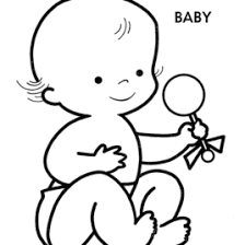 Baby Doll Coloring Pages AZ Coloring Pages Baby Coloring Pages In