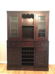 Red Bank, NJ HulaMarket | Pottery Barn China Cabinet/hutch/wine ... Bar Wonderful Basement Bar Cabinet Ideas Brown Varnished Wood Wine Bottle Rack Pottery Barn This Would Be Perfect In Floating Glass Shelf Rack With Storage Pottery Barn Holman Shelves Rustic Cabinet Bakers Excavangsolutionsnet Systems Bins Metal Canvas Food Wall Mount Kitchen Shelving Corner Bags Boxes And Carriers 115712 Founder S Modular Hutch Narrow Unique Design Riddling
