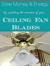 change ceiling fan direction in winter summer and save money and