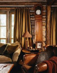 Peace Design Rustic Family Room