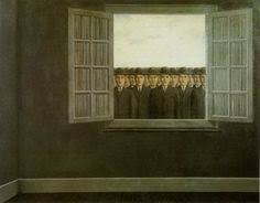 the banquet rene magritte 1958 rene magritte