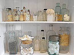 I Just Love Old Medicine Bottles And Mason Jars Farmhouse CabinetsRustic