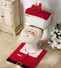 Image Of Christmas Decorating Idea For Bathroom