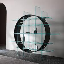 rundes designregal raumteiler paradigma b