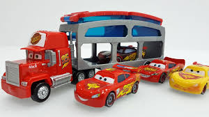100 Disney Cars Mack Truck Hauler Pixar Lightning Mcqueen