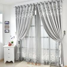 graceful living room suitable light gray curtains
