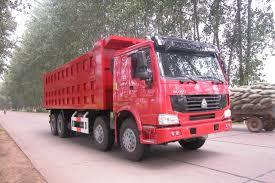 420 Hp A7 8x4 Dump Tipper Truck / 4 Axle Dump Truck With A7-W Cabin ...