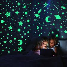leuchtsticker wandtattoo leuchtsterne selbstklebend 508pcs leuchtsterne punkten und mond wandsticker wandaufkleber diy für schlafzimmer jungen