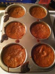 Crustless Pumpkin Pie Cupcakes by Meghan Eats Local November 2012