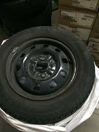 100 14 Inch Truck Tires Best Like New Mud And Snow On Black Steel Rims For