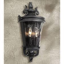 casa marseille 17 high textured black outdoor wall light 6g093