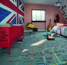 tapisserie chambre fille ado chambre ado fille garçon york londres rock côté maison